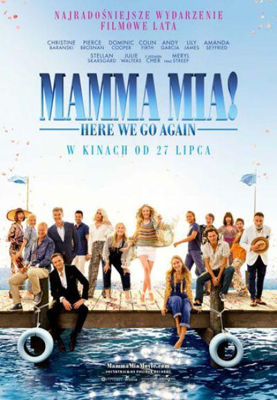 Plakat Mamma Mia! Here We Go Again