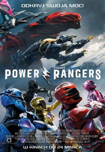 Plakat Power Rangers