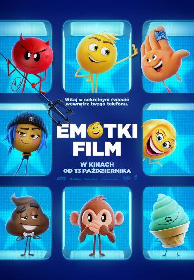 Plakat Emotki. Film